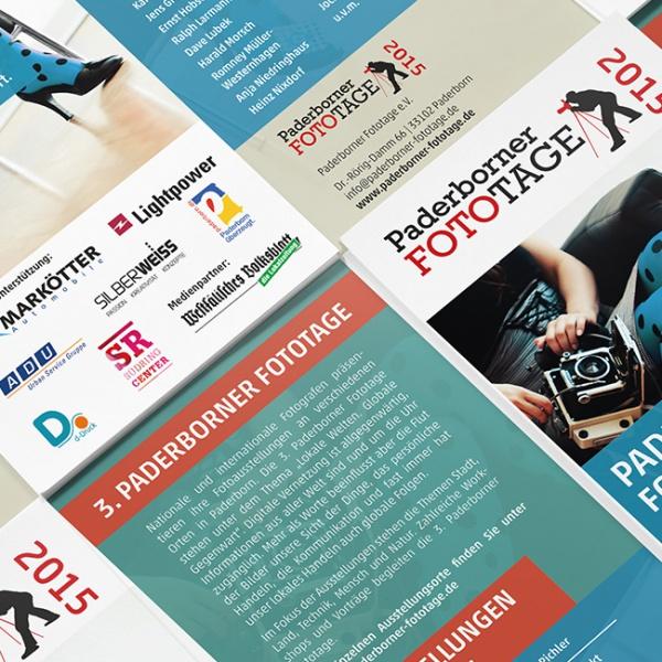 Paderborn Fototage - Flyer Design