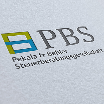 Logodesign für die Firma PBS Steuerberater