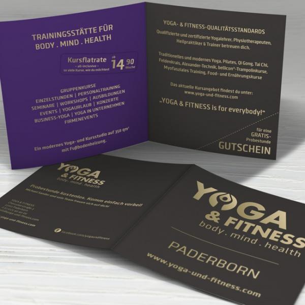 Yoga & Fitness - Flyer