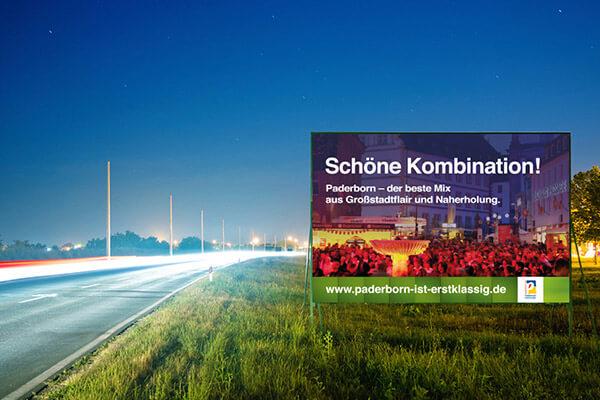Plakat - Paderborn ist erstklassig