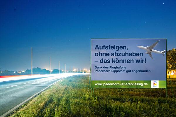 """Werbekampagne der Werbeagentur SILBERWEISS für die Stadt Paderborn - """"Paderborn ist erstklassig"""""""