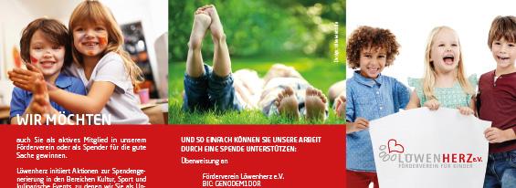 SILBERWEISS Soziales Engagement Löwenherz