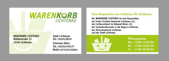 SILBERWEISS Soziales Engagement Warenkorb Lichtenau