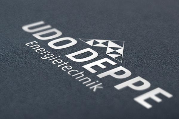 Logodesign für die Firma Udo Deppe Energietechnik