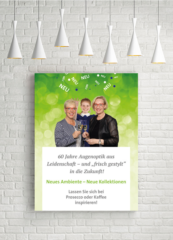 Plakat – Optik Schiller
