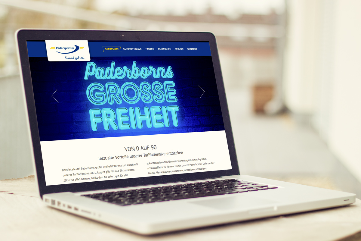 Website – PaderSprinter