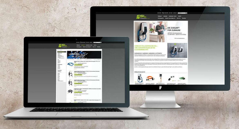 Online Shop – ESL