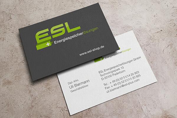 Visitenkarten – ESL