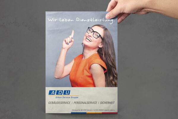 Mediendesign – ADU Service Gruppe