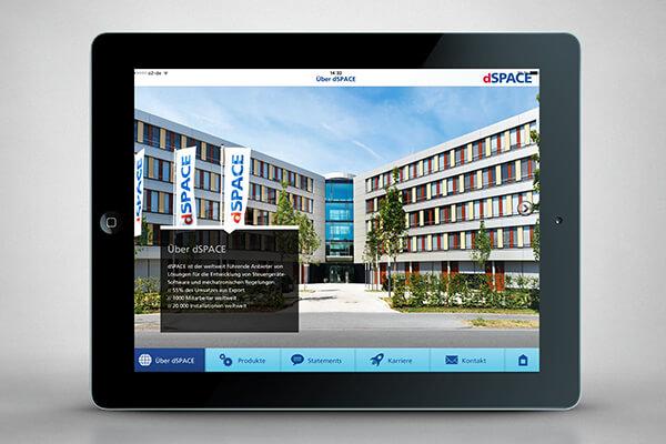 iPad-App – dSPACE