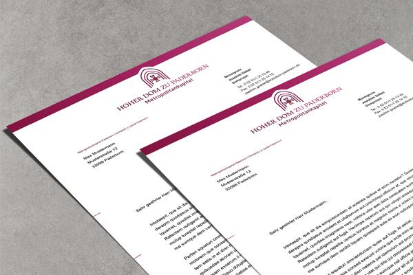 Briefpapier - Erzbistum Paderborn