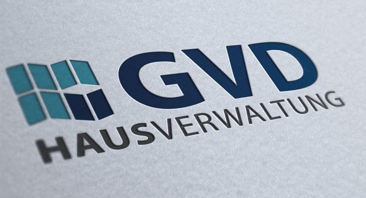 Logodesign GVD Hausverwaltung