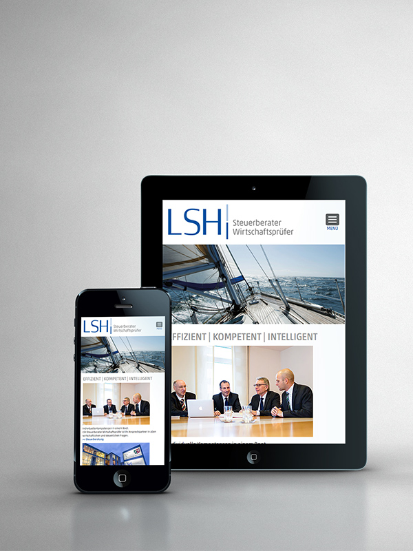 Responsive Website - LSH
