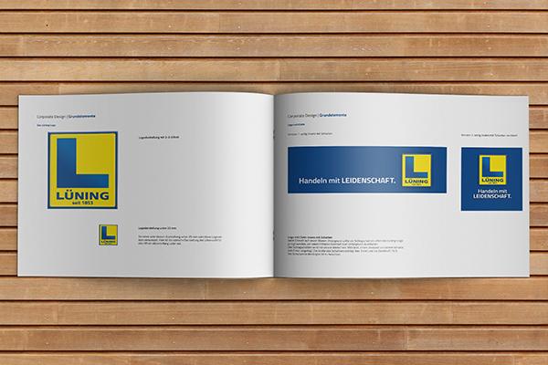 Konzept Logo und Slogan - Lüning
