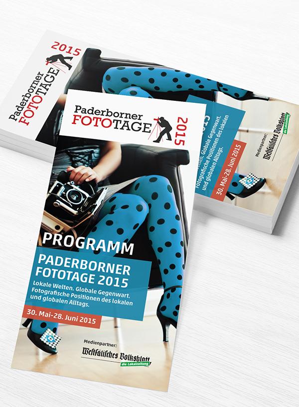 Programmheft - Paderborner Fototage