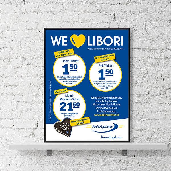 Anzeige Libori - PaderSprinter