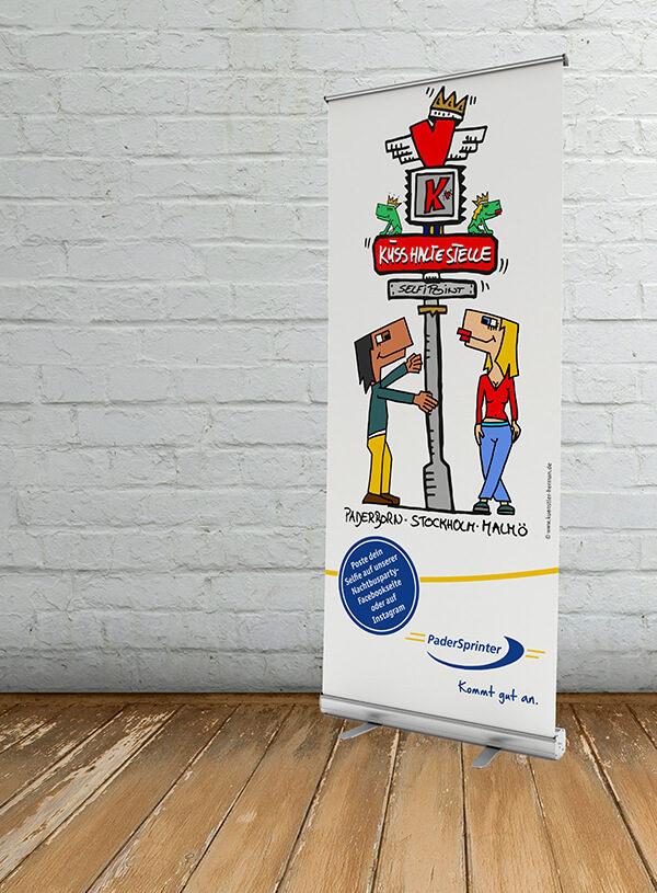 Rollup Kusshaltestelle - PaderSprinter