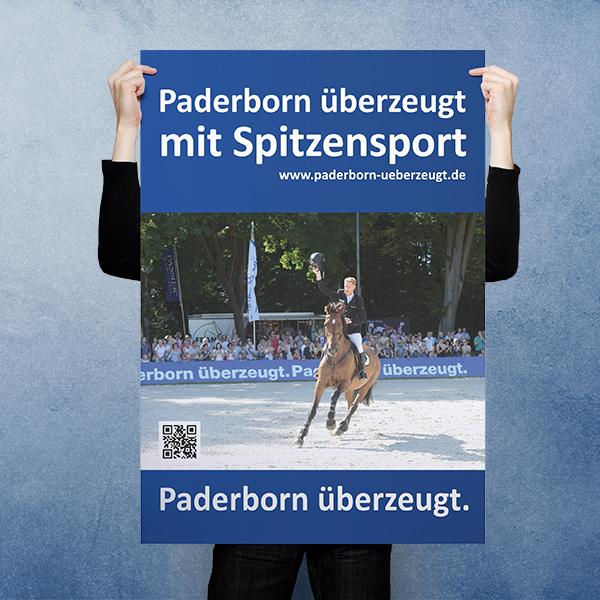 Plakat 1 - Paderborn überzeugt