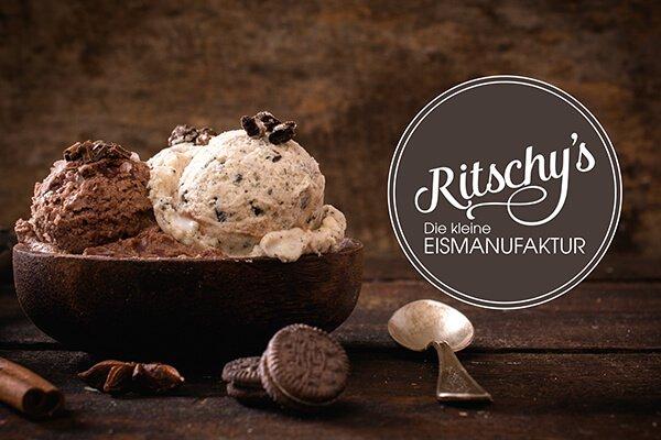 Logodesign Ritschys Eiscafe