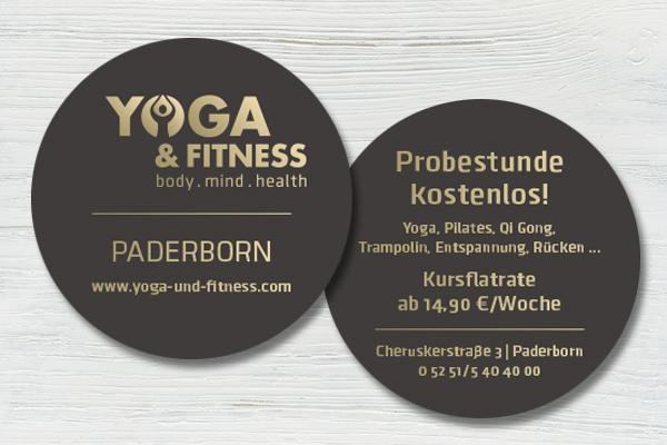 Visitenkarten – Yoga & Fitness