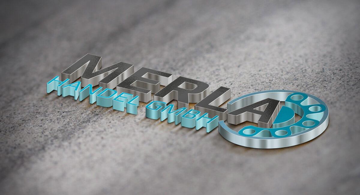SILBERWEISS 3D-Logo_Merla