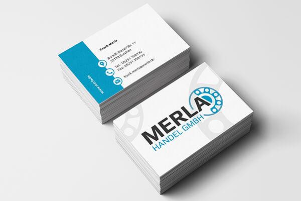 SILBERWEISS Visitenkarten Merla GmbH
