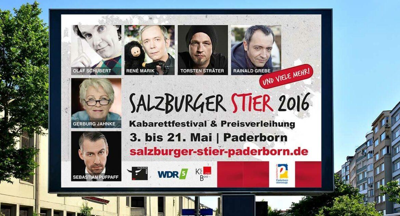 Salzburger Stier - Plakat