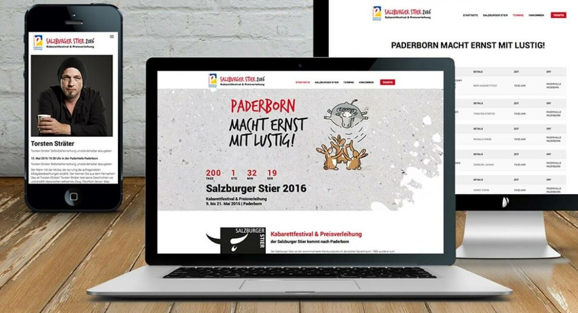 Salzburger Stier - Website