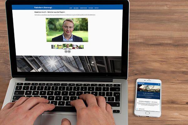 SILBERWEISS – Paderborn überzeugt e.V. Website
