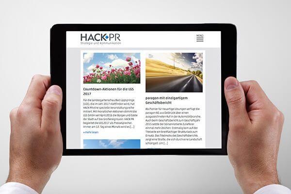 SILBERWEISS HACK PR  iPad