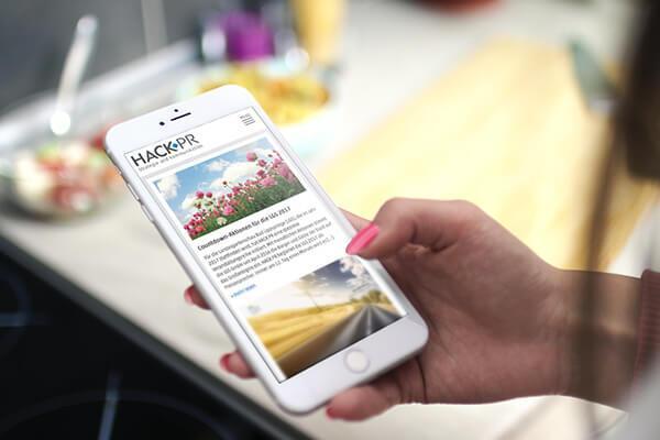 SILBERWEISS HACK PR  Smartphone