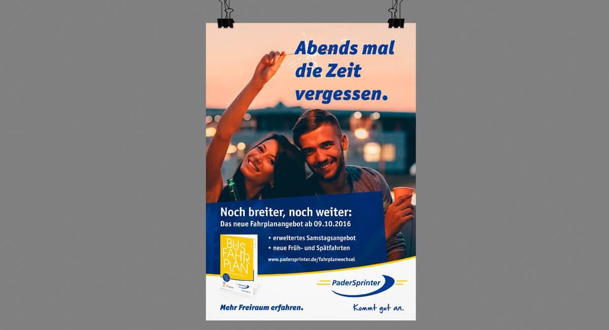 """SILBERWEISS – PaderSprinter """"Freiraum erfahren"""""""