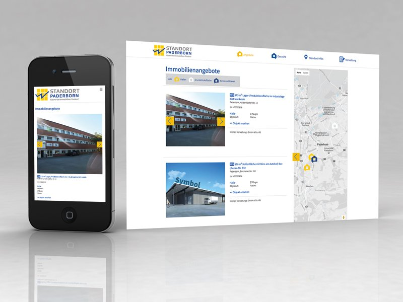 Website – Standort-Paderborn