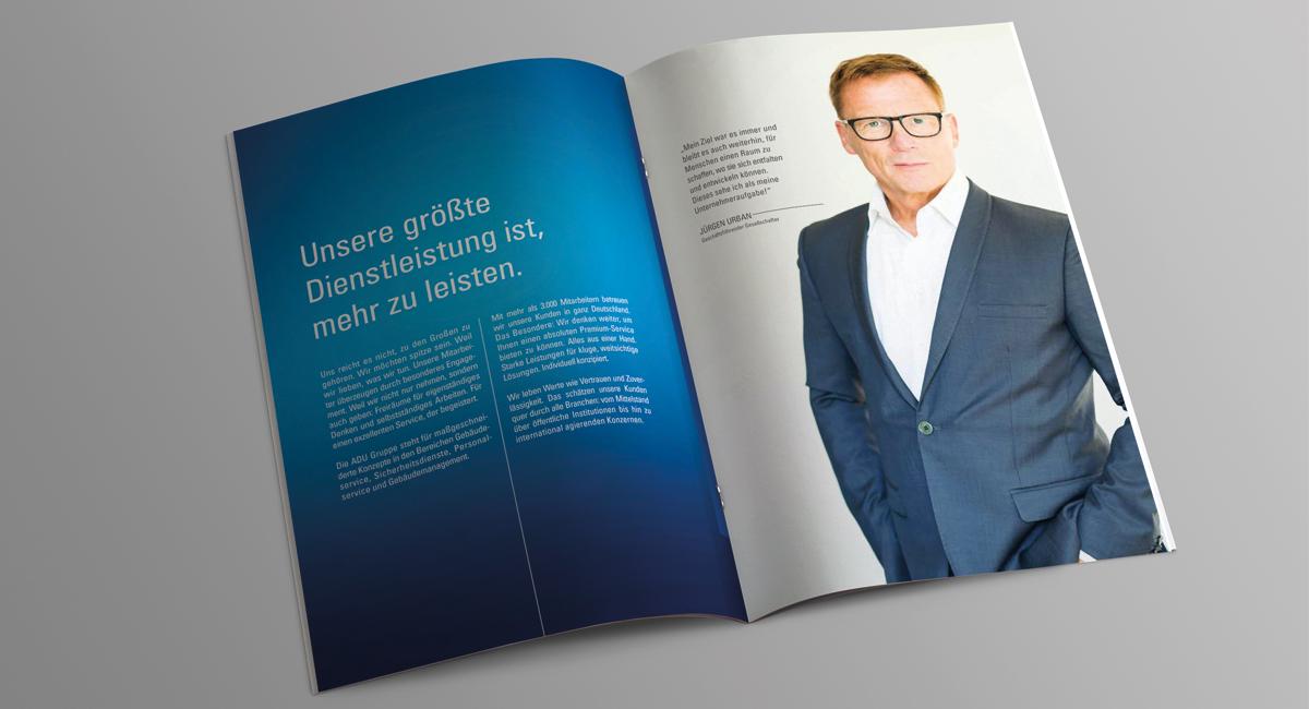 Imagebroschüre – ADU Urban Service Gruppe