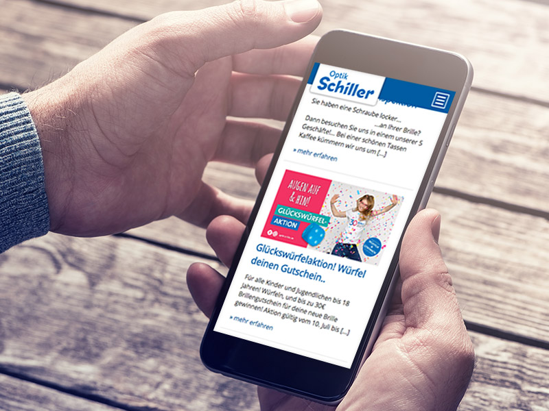 SILBERWEISS – Optik Schiller