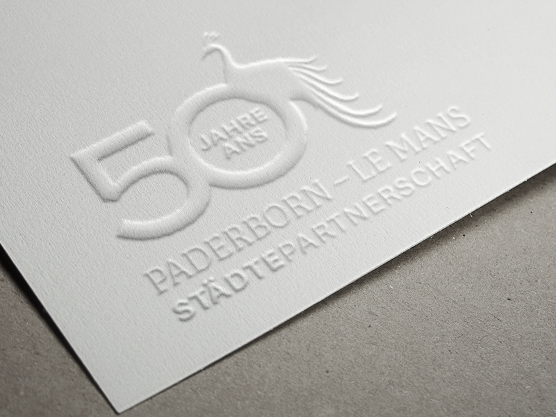 SILBERWEISS – Stadt Paderborn-Le Mans 50 Jahre