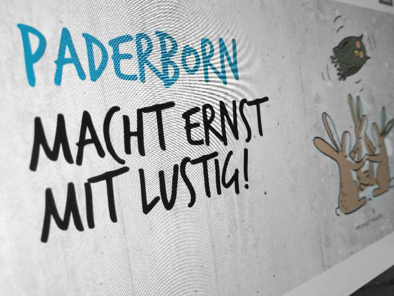 SILBERWEISS – Paderborn macht ernst mit lustig