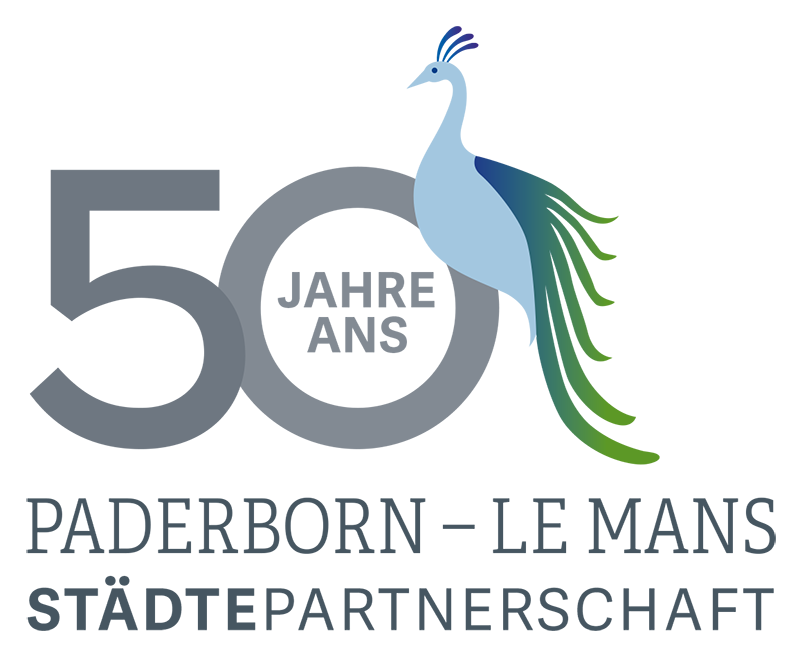 50 Jahre Le Mans und Paderborn – Logo
