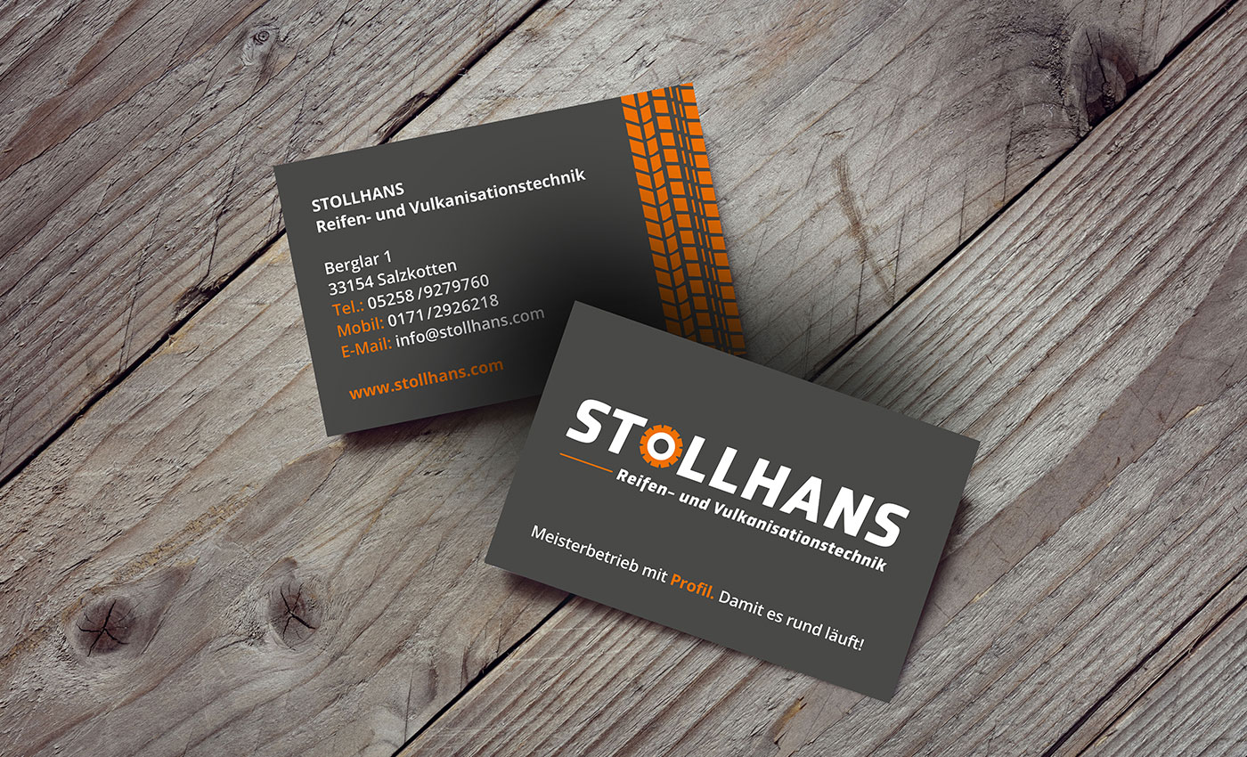 SILBERWEISS – Stollhans Corporate Design
