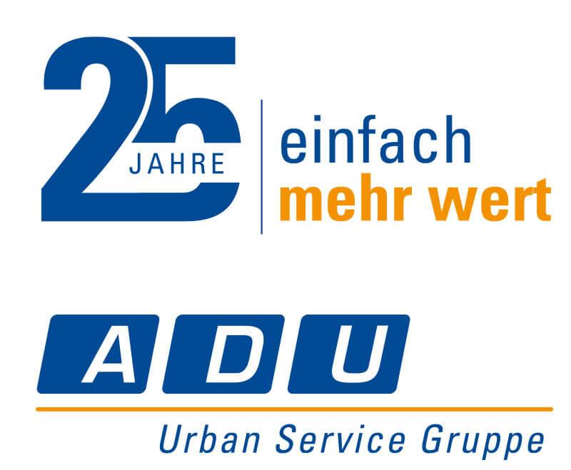 25 Jahre ADU Paderborn – Jubiläumslogo