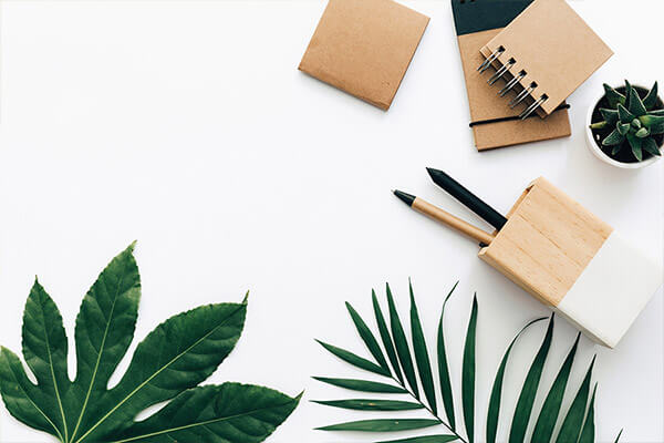 Fotodesign-Trends 2019 – minimalistische Flatlays