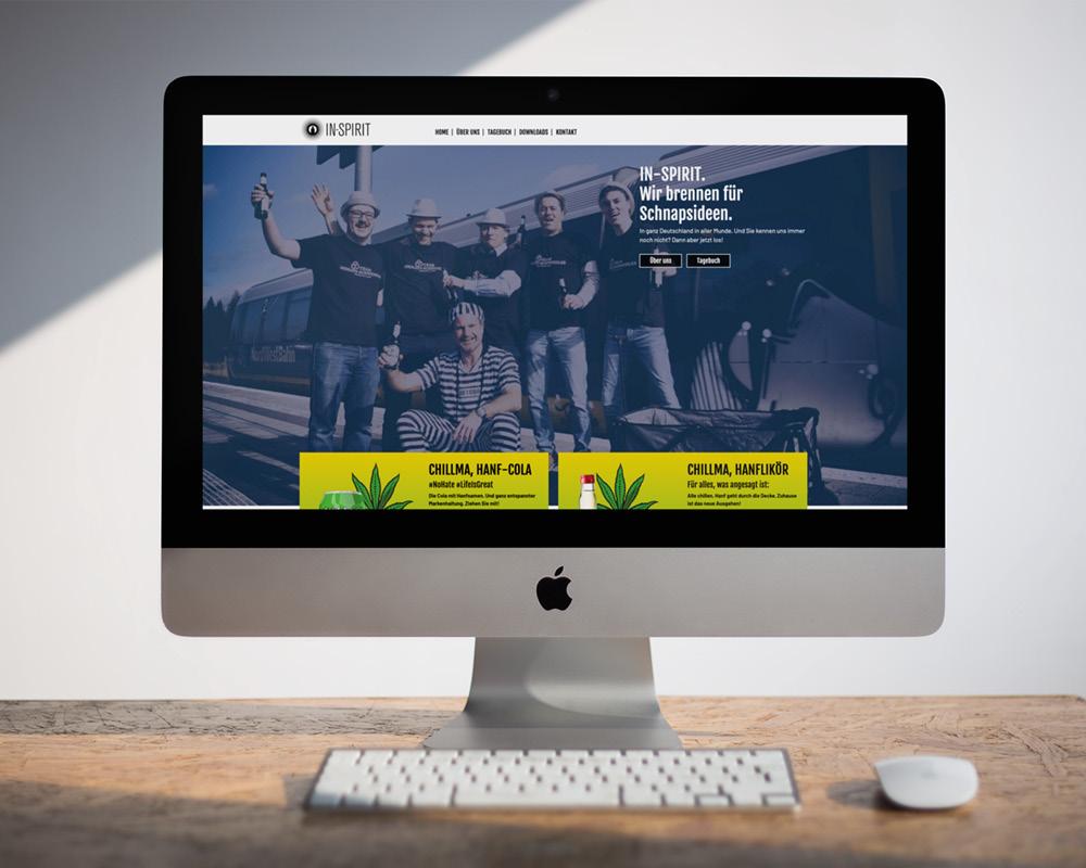 SILBERWEISS –  in-spirit-Webprojekt
