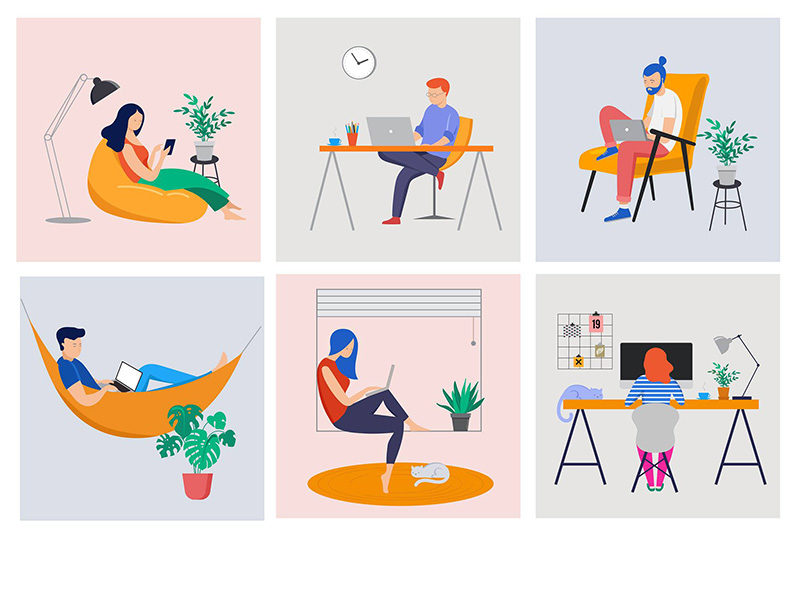 SILBERWEISS-Designagentur-Homeoffice