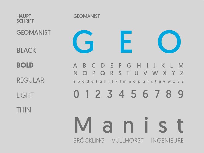Schriftkonzept Designmanual Designmanual Logodesign Bröckling Vullhorst